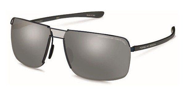 PORSCHE Design Porsche Design Herren Sonnenbrille » P8615«, blau, C - blau/silber