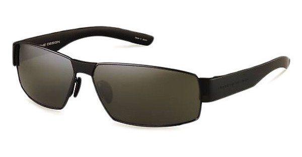 Porsche Design Herren Sonnenbrille » P8530« in D - grau/ silber