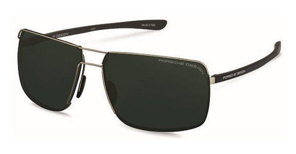 PORSCHE Design Porsche Design Herren Sonnenbrille » P8615«, schwarz, A - schwarz/ silber