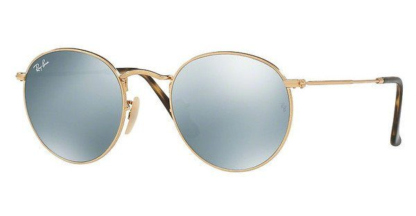 ray ban sonnenbrille round metal