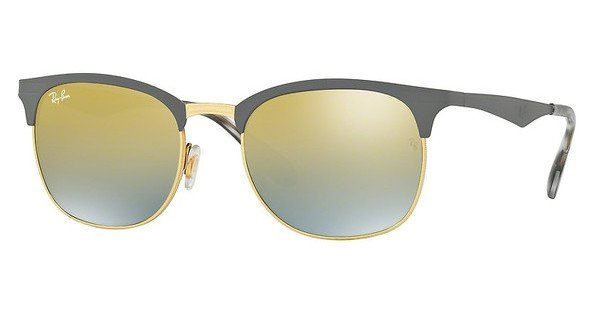 RAY BAN RAY-BAN Herren Sonnenbrille » RB3538«, grau, 9007A7 - grau/gold