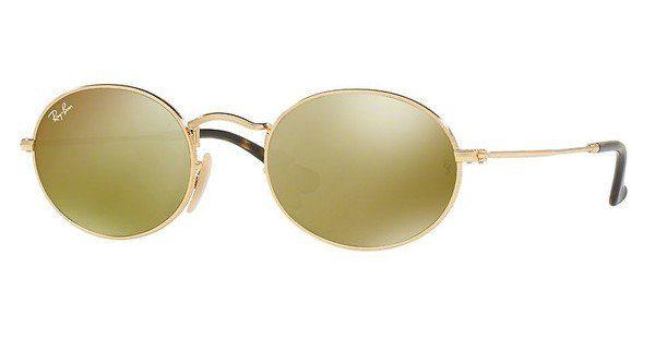 Ray-Ban RB3547N Sonnenbrille Gold 001-30 48mm qLN7wmx