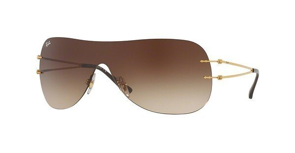 RAY-BAN Sonnenbrille » RB8057« in 157/13 - gold/braun