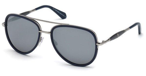 Roberto Cavalli Herren Sonnenbrille » RC1022« in 91C - blau/grau