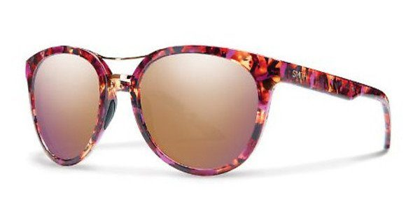 Smith Damen Sonnenbrille » BRIDGETOWN«, lila, WJ9/FN - lila/braun