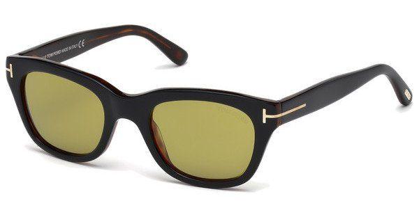 Tom Ford Herren Sonnenbrille »Snowdon FT0237«, braun, 52N - braun/grün