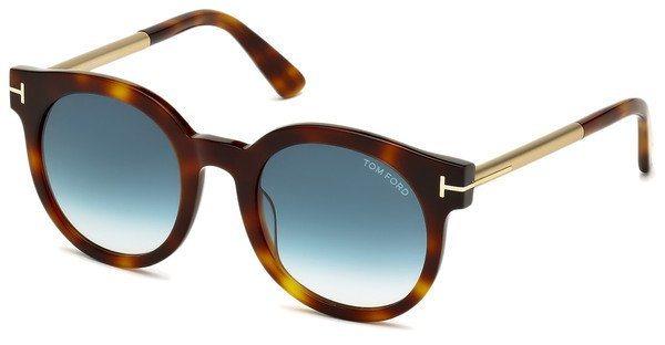 Tom Ford Damen Sonnenbrille »Janina FT0435« in 52P - braun/grün