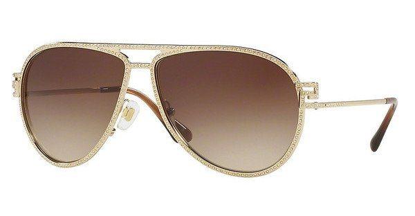 Versace Damen Sonnenbrille » VE2171B« in 125213 - gold/braun