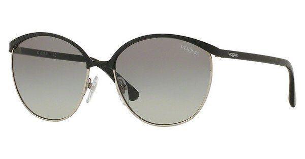 VOGUE Vogue Damen Sonnenbrille » VO4010S«, grau, 50525R - grau/rot