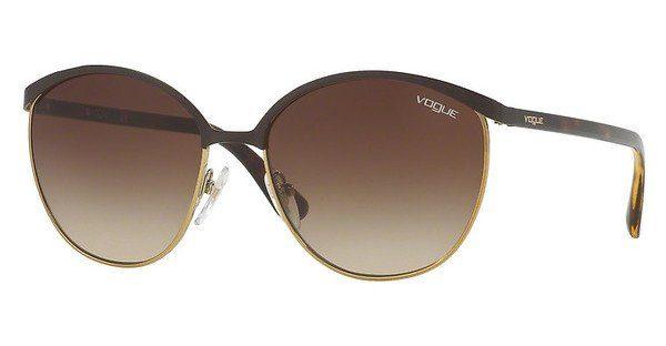 VOGUE Vogue Damen Sonnenbrille » VO4010S«, braun, 997/13 - braun/braun