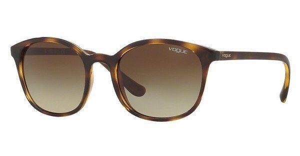 VOGUE Vogue Damen Sonnenbrille » VO2843S«, braun, W656T5 - braun/braun