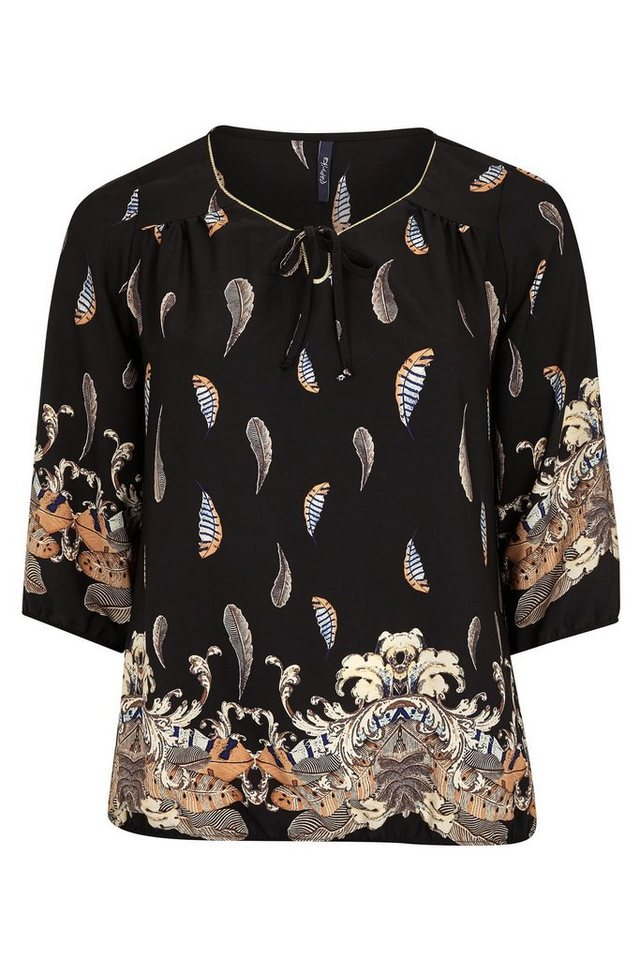 Paprika Klassische Bluse in schwarz