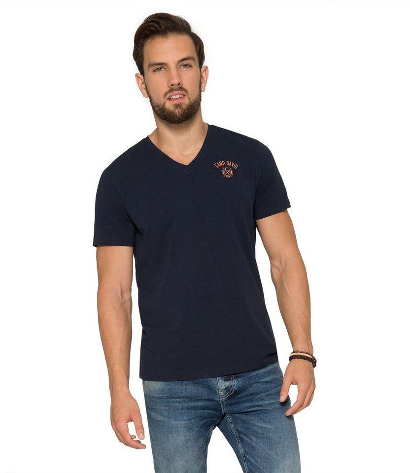 CAMP DAVID T-Shirt in dunkelblau