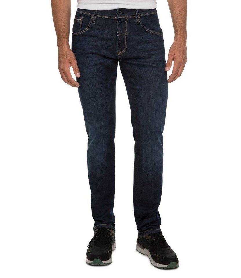 CAMP DAVID 5-Pocket-Jeans in schwarz