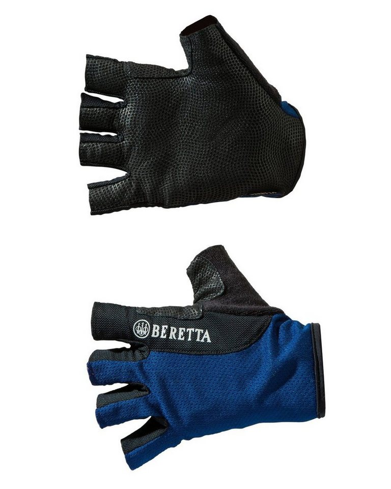 Beretta Handschuhe ohne Kuppe in Blau