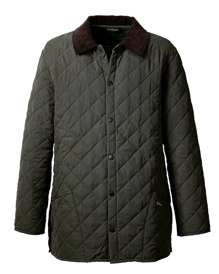 Barbour Jacke Eskdale in Dunkeloliv