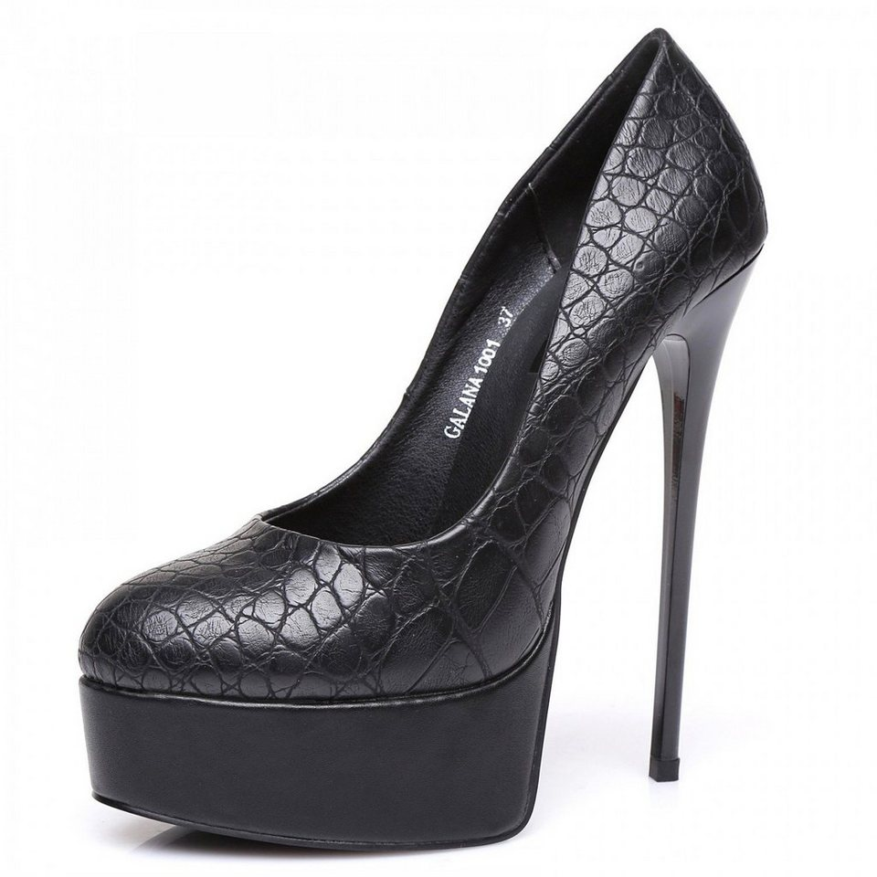 Giaro Pumps in Schwarz