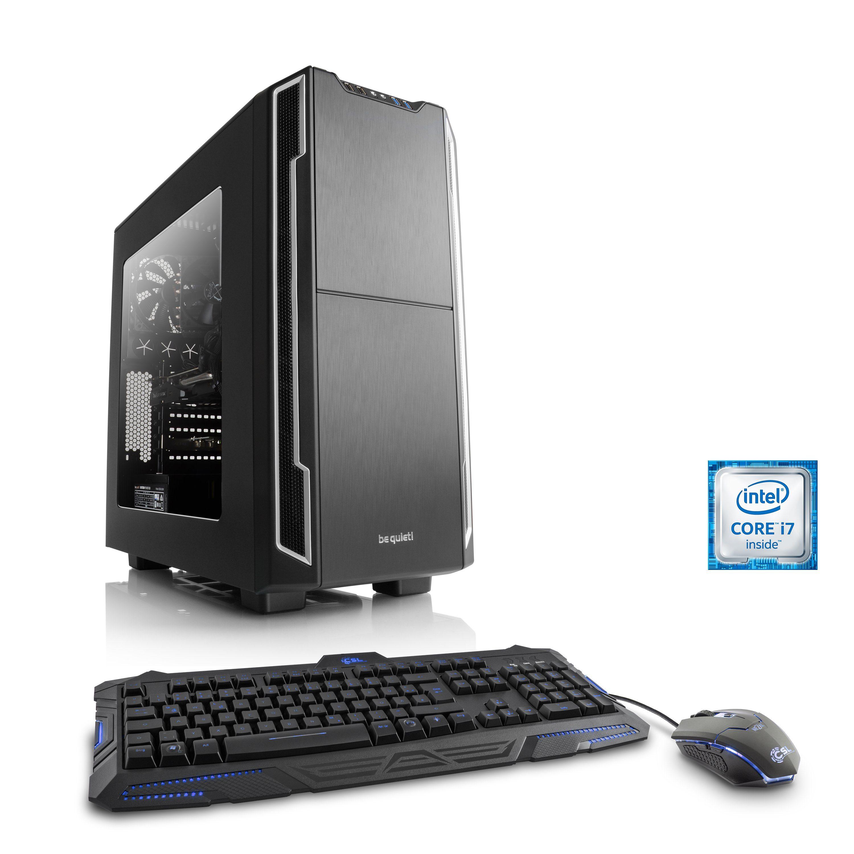 CSL Gaming PC | Core i7-6700K | GeForce GTX 1070 | 32GB DDR4 | SSD »Immortalis T7220 Windows 10«