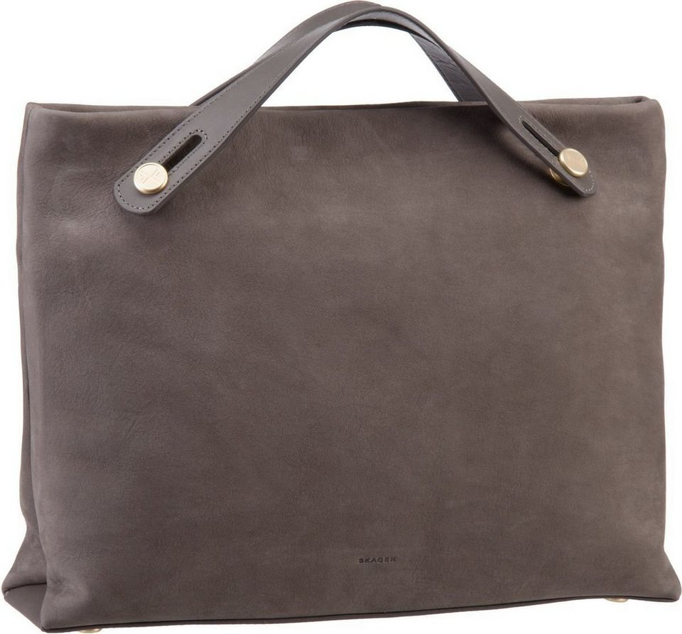 Skagen Mikkeline Satchel Mainsail in Heather Grey