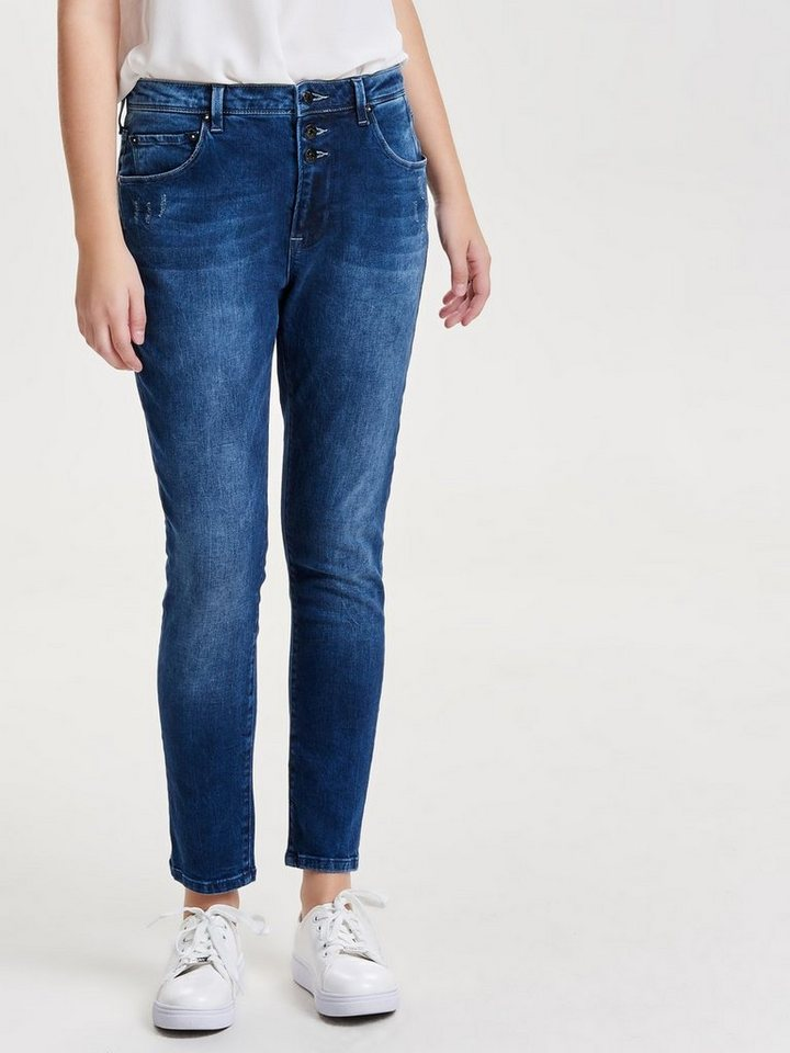 Only Liberty Anti-fit-jeans in Dark Blue Denim