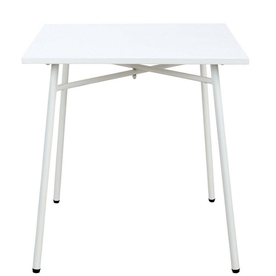BUTLERS CARREFOUR »Tisch« in weiss