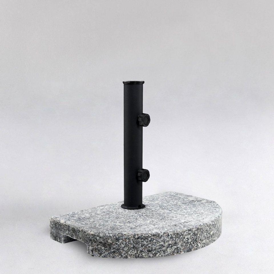 BUTLERS THE ROCK »Schirmständer halbrund« in grau