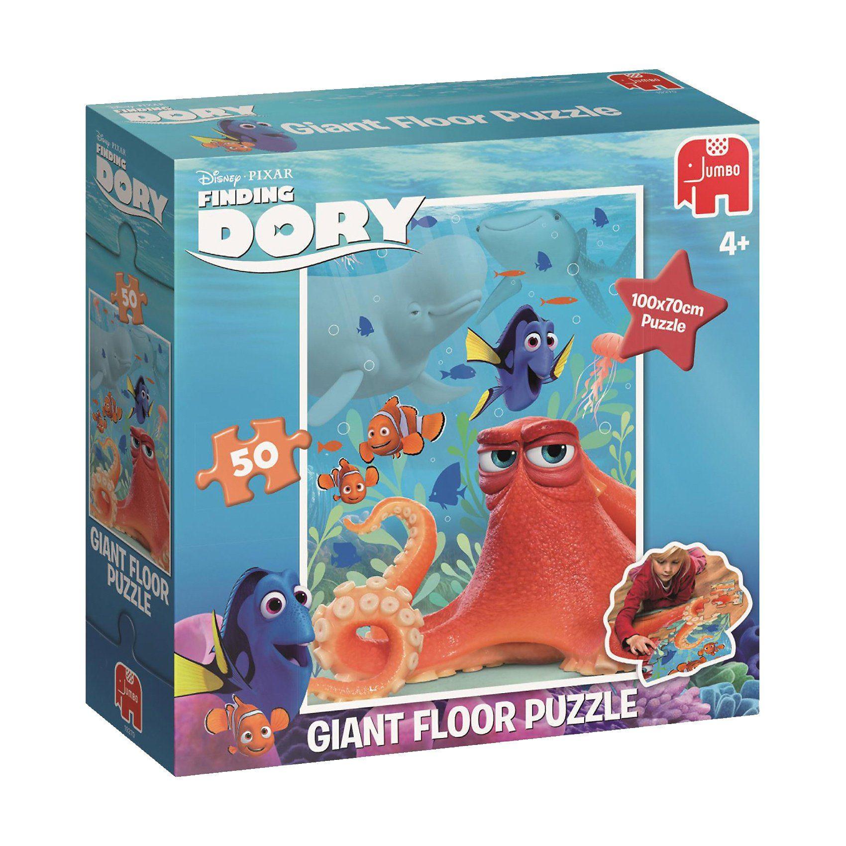 Jumbo Bodenpuzzle - Findet Dorie