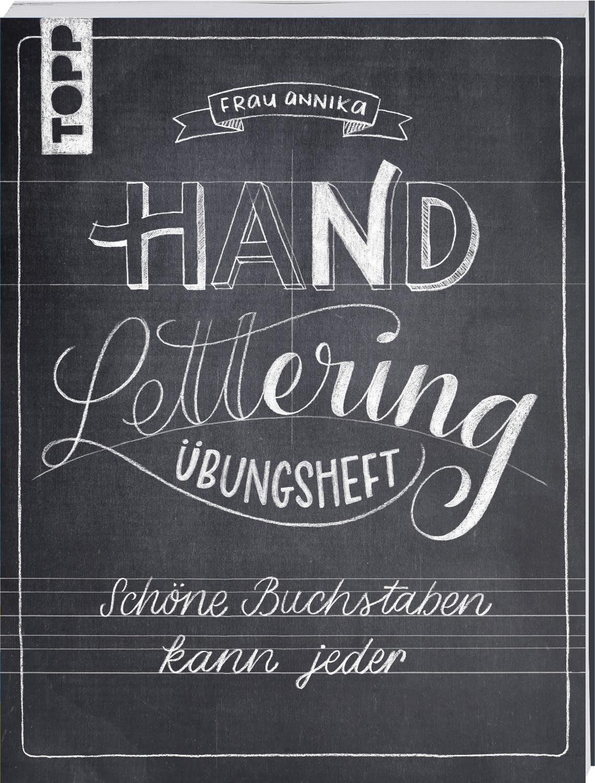 """Topp Buch """"Hand Lettering Übungsheft"""" 64 Seiten"""