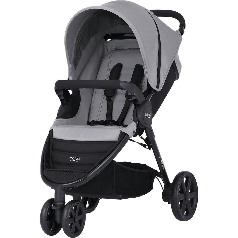 britax buggy b agile 3 steel grey 2017 kaufen otto. Black Bedroom Furniture Sets. Home Design Ideas