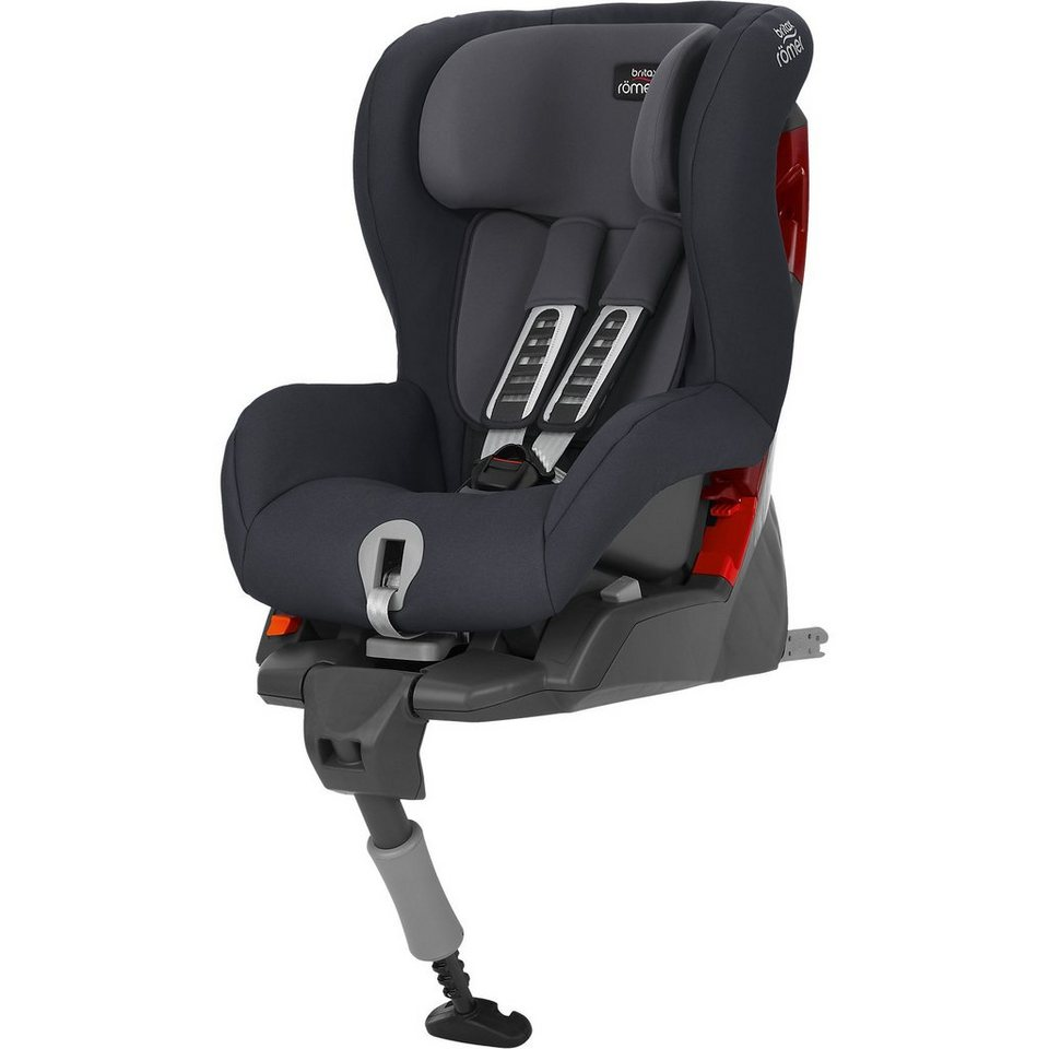 Britax Römer Auto-Kindersitz Safefix Plus, Storm Grey, 2017 in grau