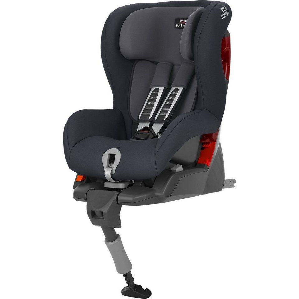 BRITAX RÖMER Auto-Kindersitz Safefix Plus, Storm Grau, 2018 online kaufen
