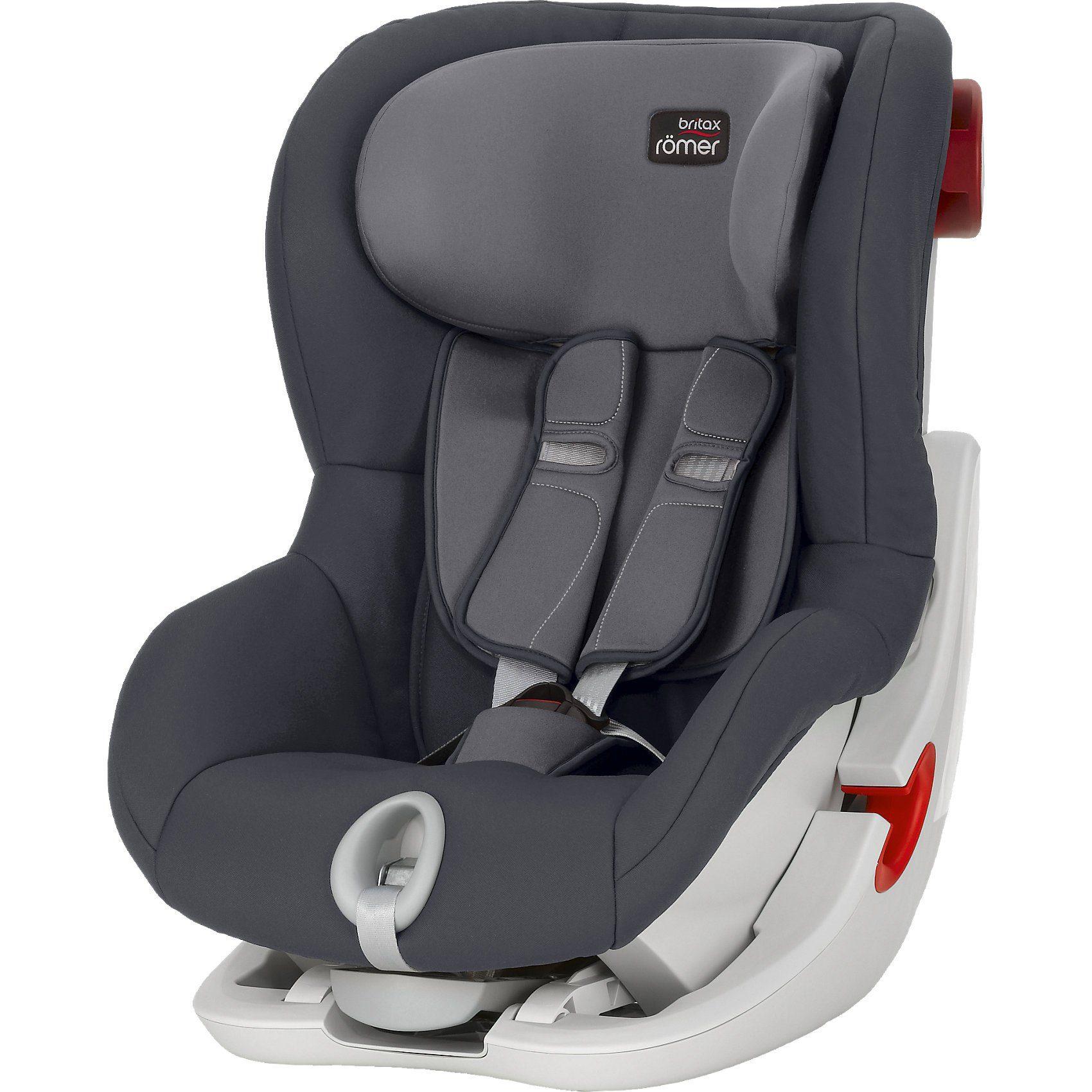 BRITAX RÖMER Auto-Kindersitz King II, Storm Grey, 2018