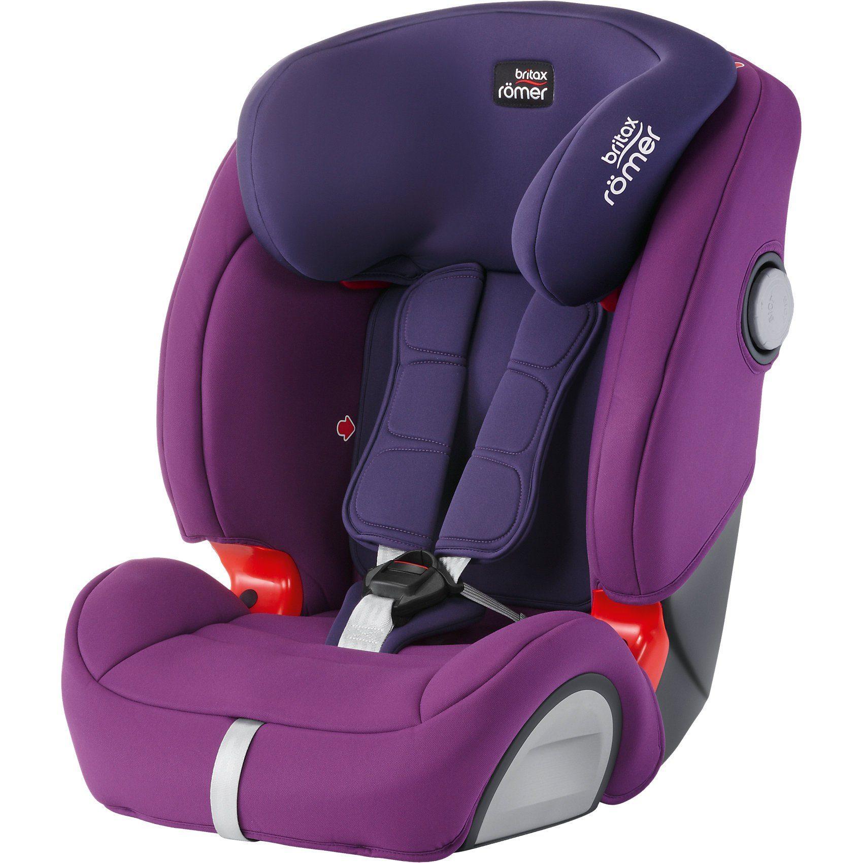 BRITAX RÖMER Auto-Kindersitz Evolva 1-2-3 SL SICT, Mineral Purple, 2017