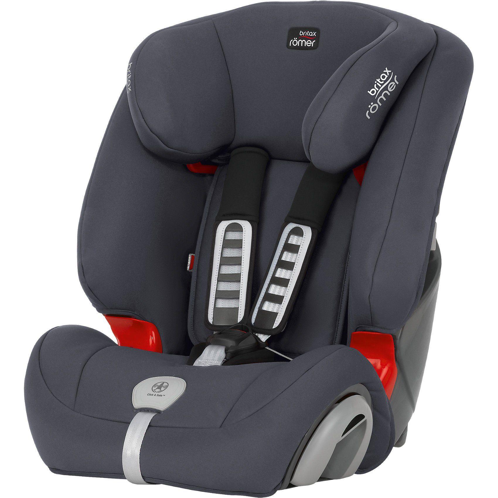 Britax Römer Auto-Kindersitz Evolva 1-2-3 Plus, Storm Grey, 2017