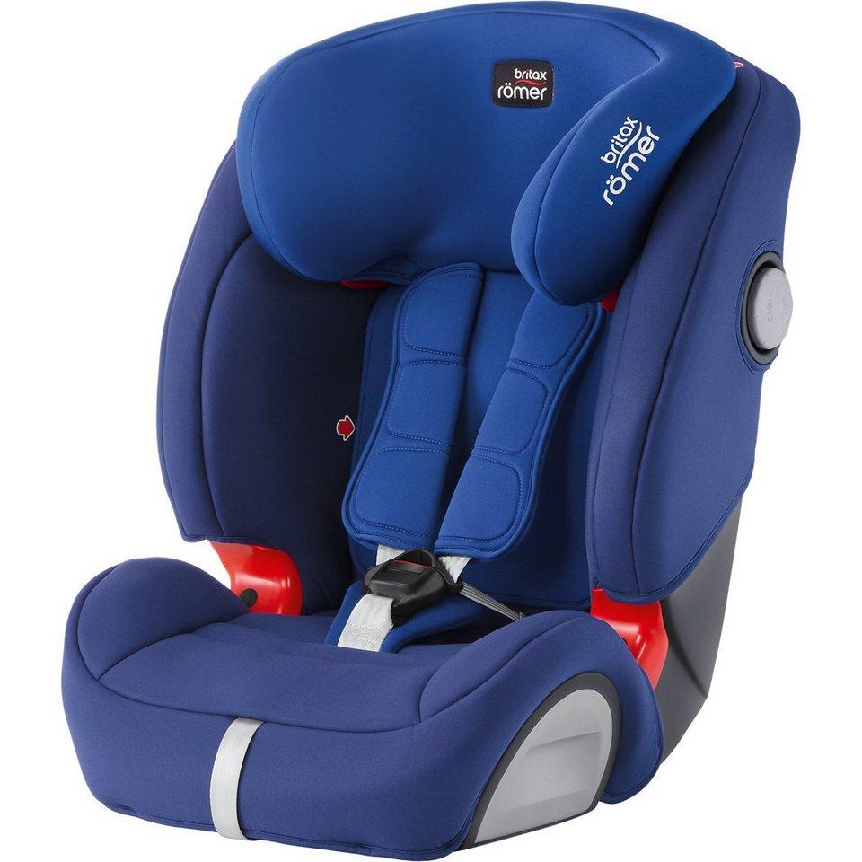 Britax Römer Auto-Kindersitz Evolva 1-2-3 SL SICT, Ocean Blue, 2017 in blau