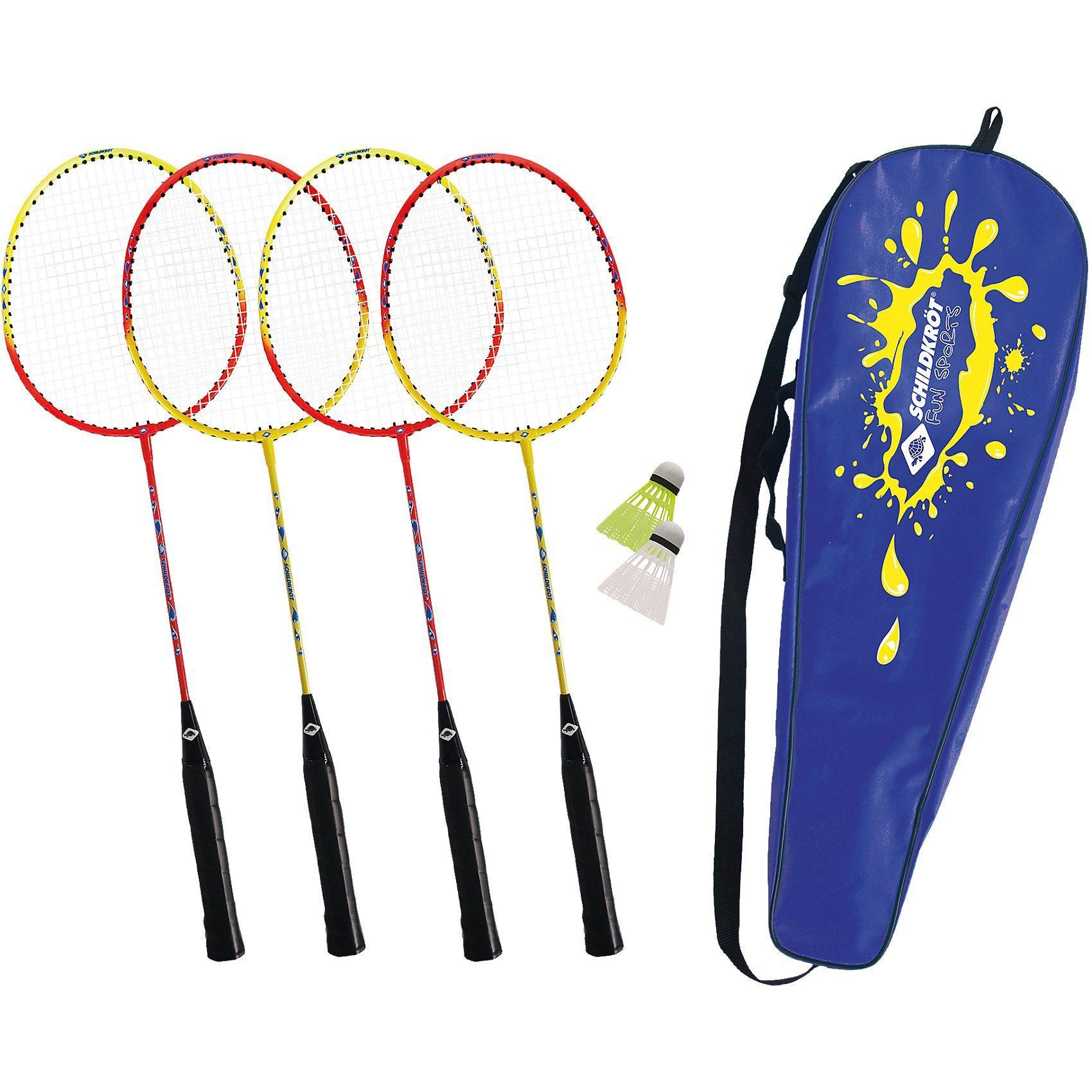 3er Set Sonic Speed Baddminton Bälle Federbälle gelb Sunflex Bälle