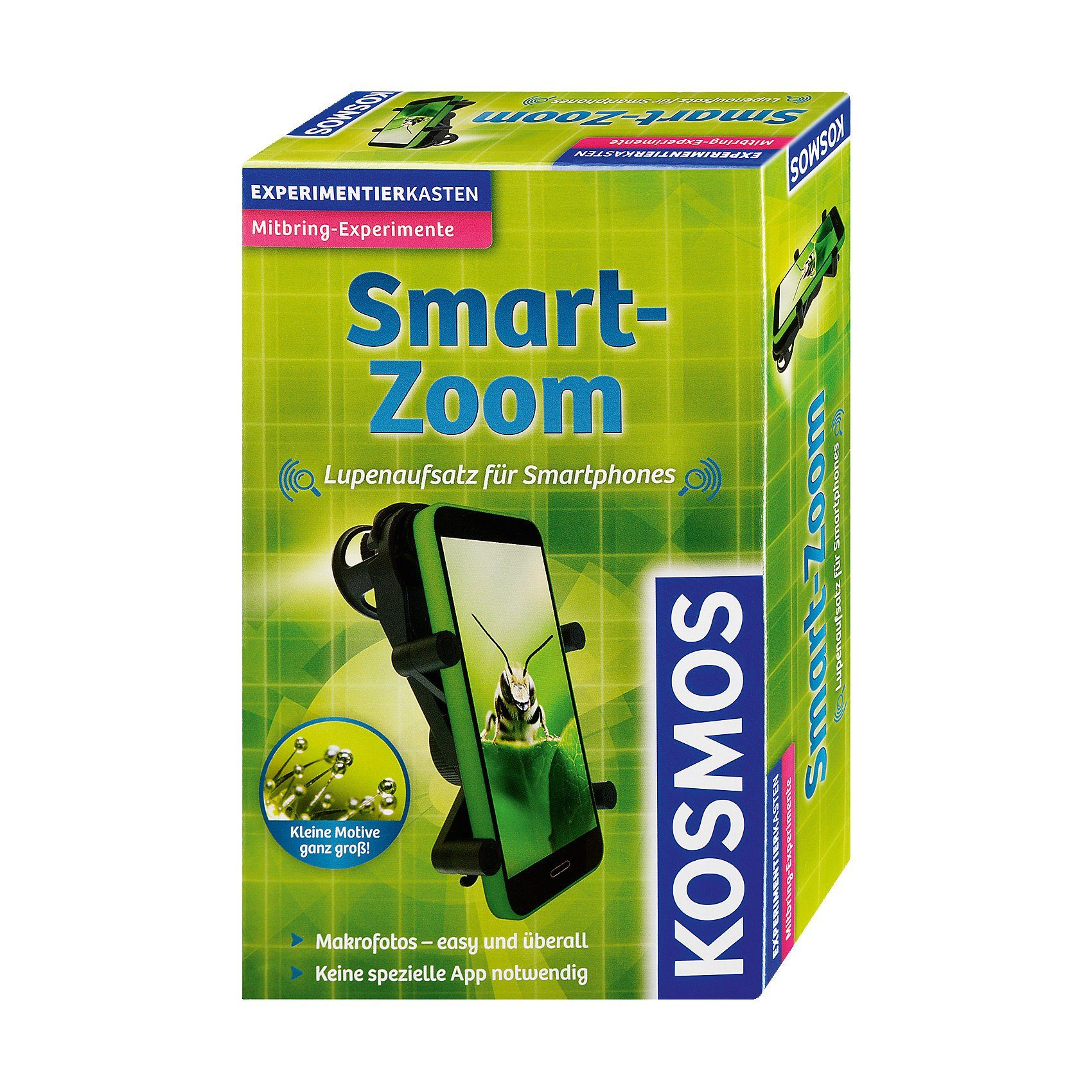 Kosmos Mitbringexperiment Smart-Zoom