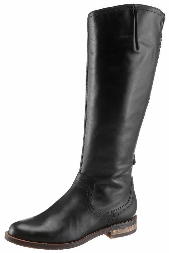 Donna Carolina Stiefel in schwarz