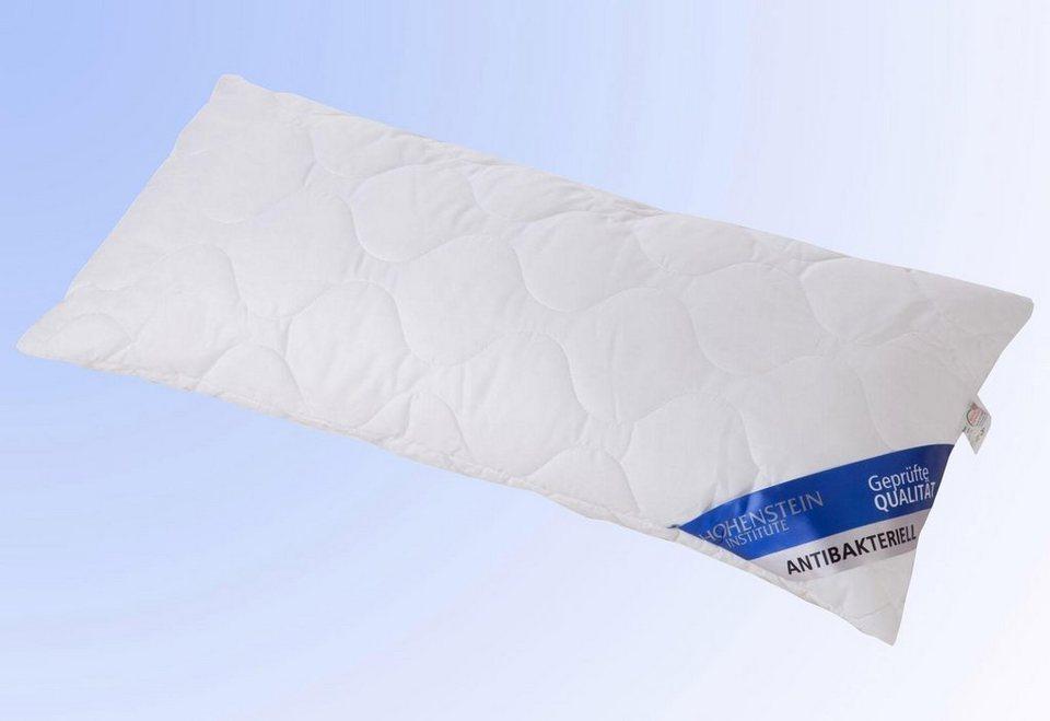 Microfaserkopfkissen Wendre Antibakteriell Hohenstein Baumwollprogramm, Baumwolle