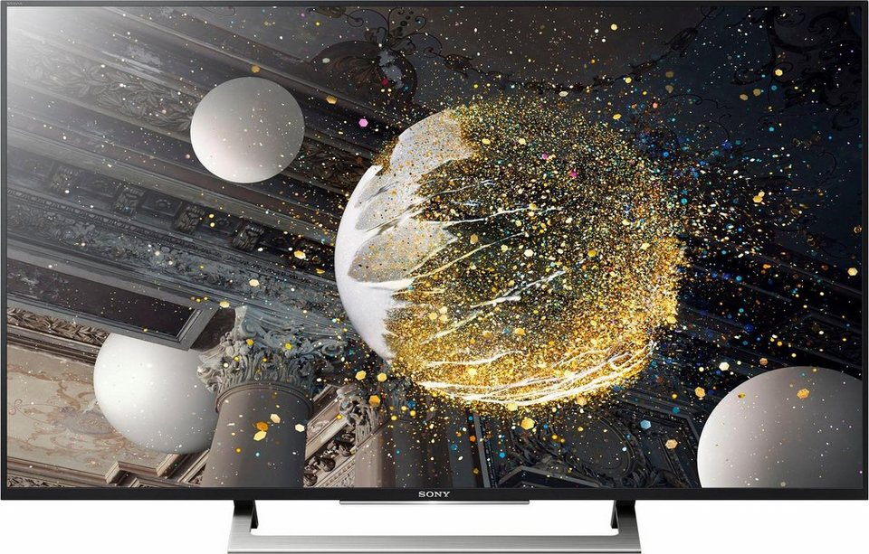 sony kd 43xd8005 led fernseher 108 cm 43 zoll 2160p 4k ultra hd hdr smart tv online. Black Bedroom Furniture Sets. Home Design Ideas