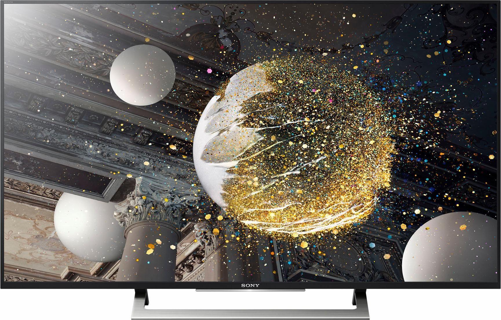 Sony KD-43XD8005, LED Fernseher, 108 cm (43 Zoll), 2160p (4K Ultra HD), HDR, Smart-TV