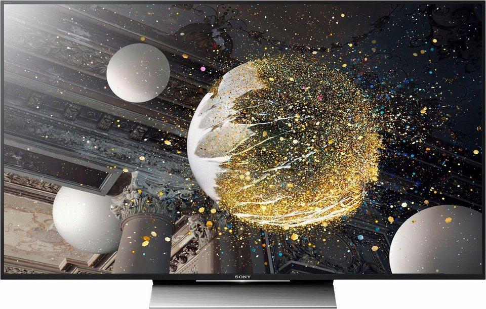 Sony KD-55XD8005, LED Fernseher, 139 cm (55 Zoll), 2160p (4K Ultra HD), HDR, Smart-TV in schwarz