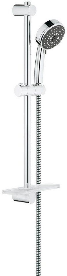 Brausegarnitur »Vitalio Comfort 100« in chromfarben x chromfarben