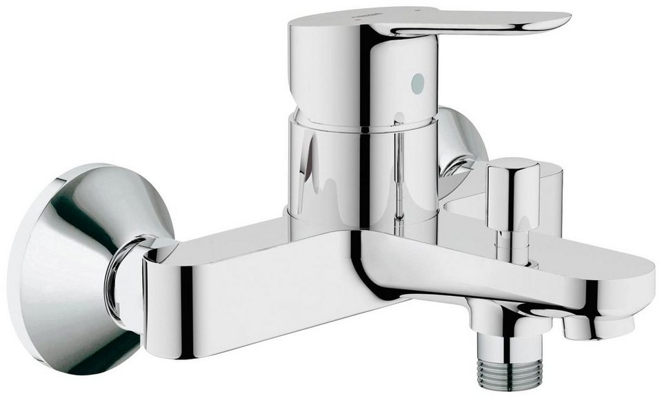GROHE Wannenarmatur »Start Edge« in silberfarben