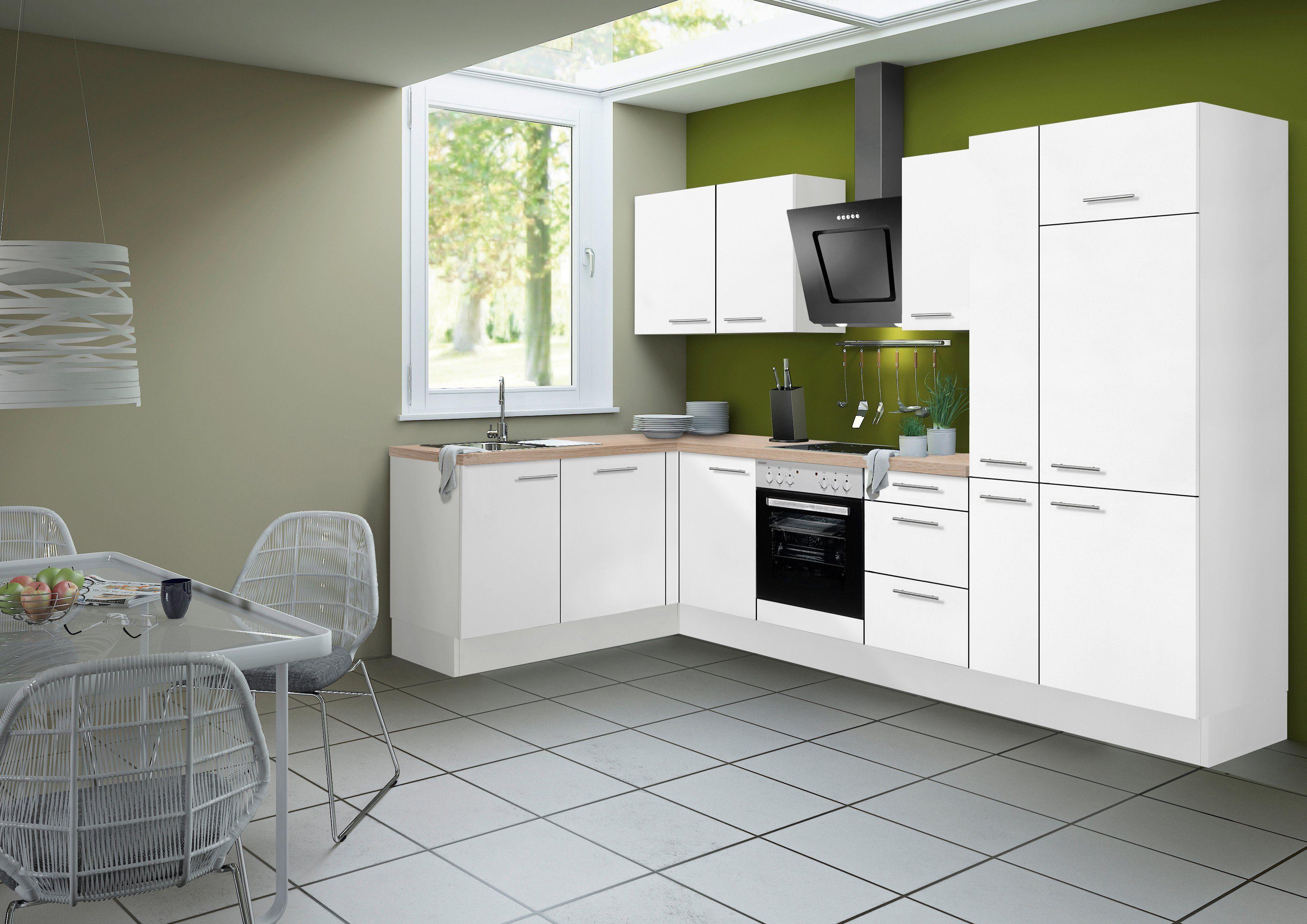 Optifit Küchenzeile ohne E-Geräte »Michel«, Breite 315 x 175 cm