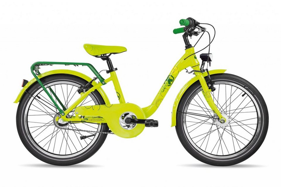 S'COOL Kinderrad »chiX pro 20-3« in gelb