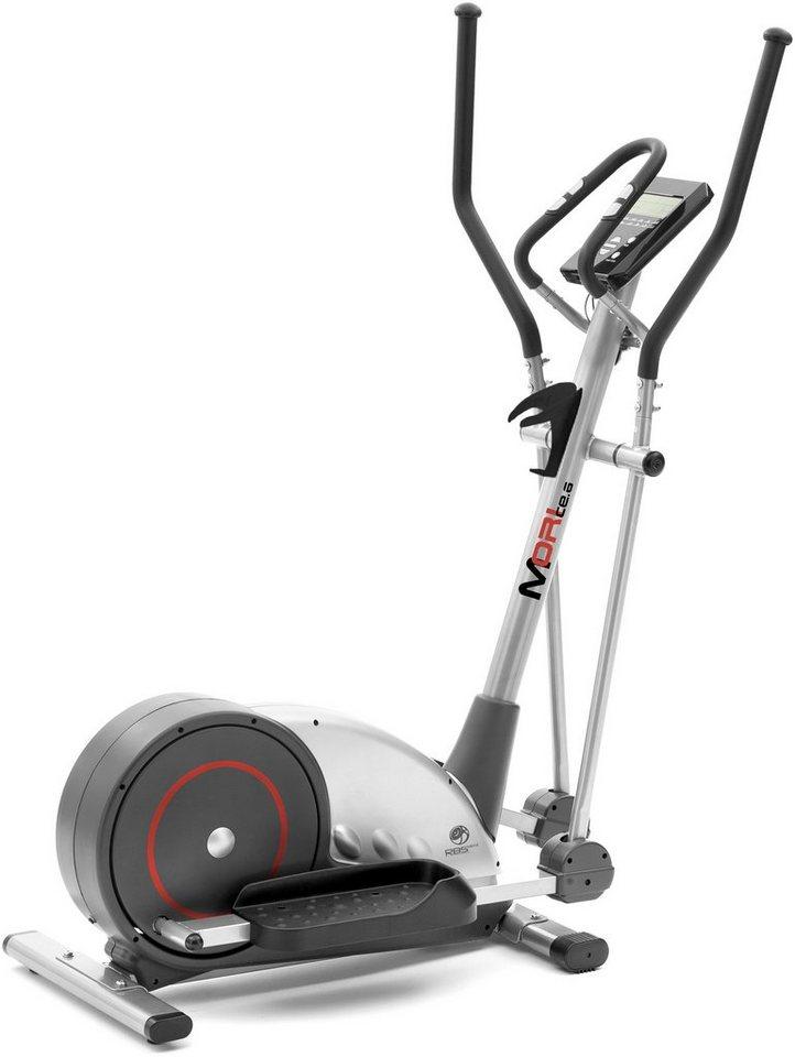 RBSports Crosstrainer-Ergometer, »Mori CE.6« in silberfarben-grau-rot