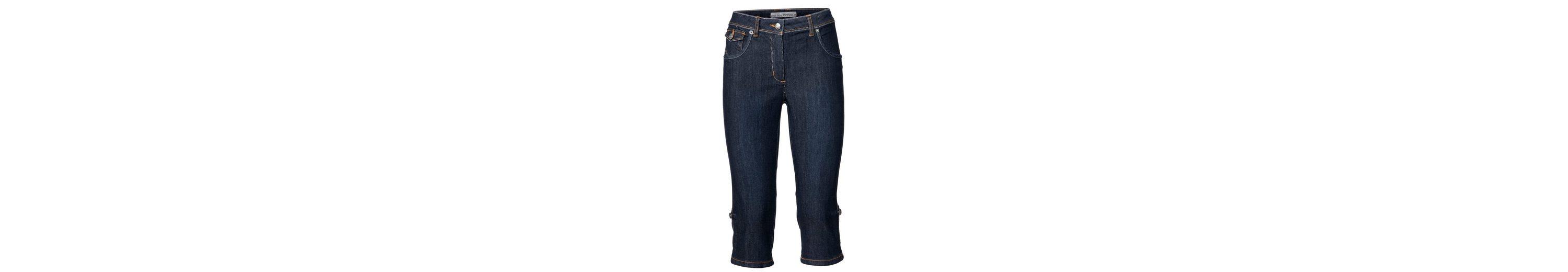Billig Vorbestellung Freies Verschiffen Truhe Finish ASHLEY BROOKE by Heine Bodyform-Capri-Jeans zum Krempeln Online-Verkauf Online Online Shop 8vEVt5s