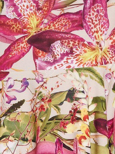 Ashley Brooke By Heine Schößchenbluse Blumendruck