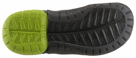 Crocs Zehentrenner, mit Ziernähten